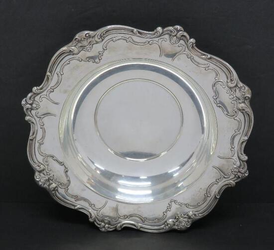 """Ornate large Gorham Sterling Silver Bowl, 745, 10"""""""