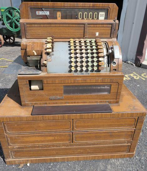 National Cash Register, multi drawer, #5637586