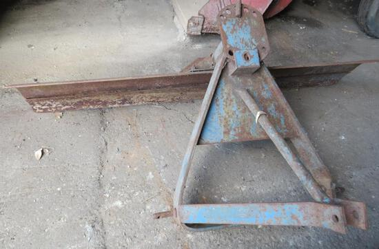 """Three Point Blade, scraper is 6' long and 15"""" high"""