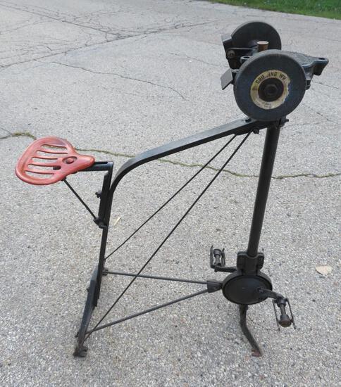 Luther Pedal Grinder, Hummer #271 Model G, Milwaukee