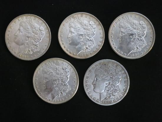 5  MORGAN'S 1884 - 1886