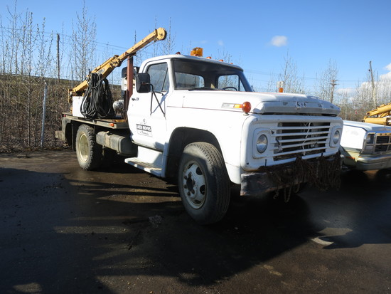 1970 Ford F500 Welding Truck
