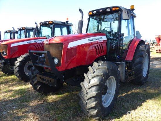 Massey Ferguson 5465 MFWD Tractor, s/n T009081: C/A, 3 Hyd. Remotes, Draw B
