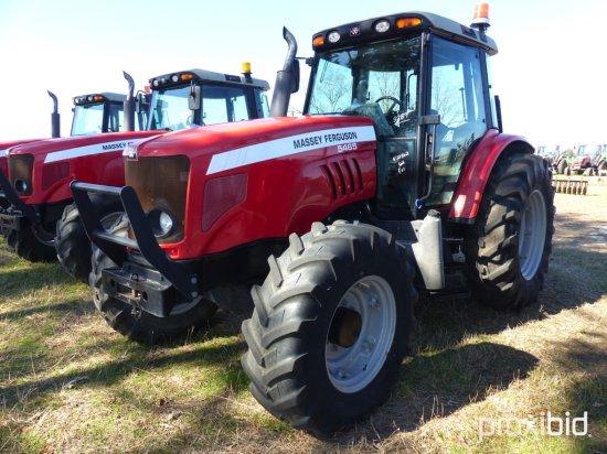 Massey Ferguson 5465 MFWD Tractor, s/n T016061: C/A, 3 Hyd. Remotes, Draw B