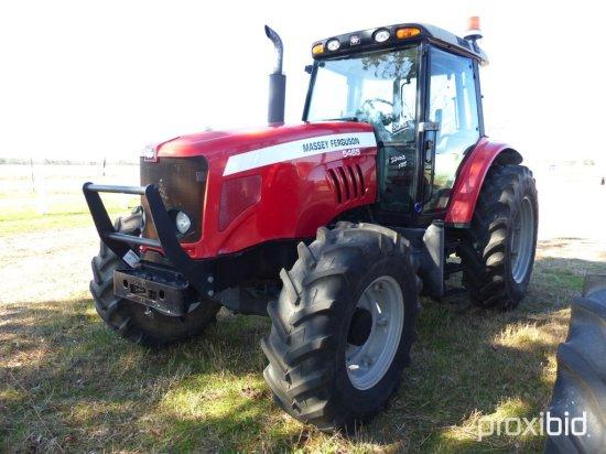 Massey Ferguson 5465 MFWD Tractor, s/n T007086: C/A, 3 Hyd. Remotes, Draw B
