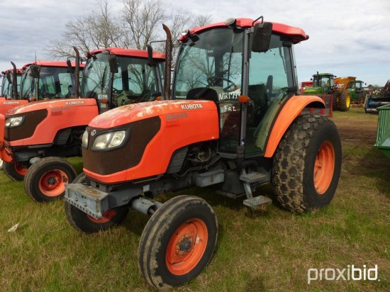Kubota M8540 Tractor, s/n 20006: C/A, 2wd, 9622 hrs
