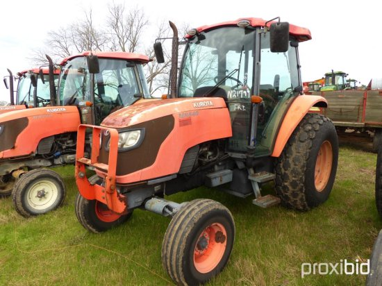 Kubota M8540 Tractor, s/n 20007: C/A, 2wd, 7805 hrs