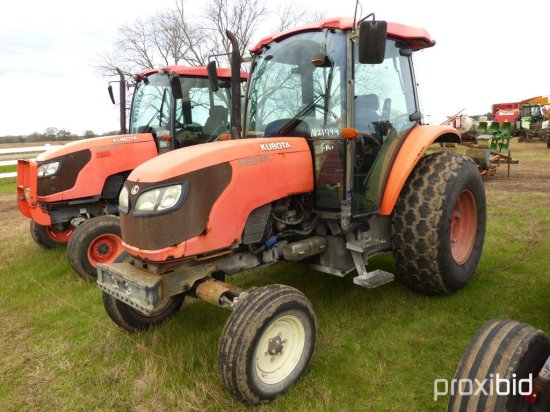 Kubota M8540 Tractor, s/n 20044: C/A, 2wd, 9582 hrs