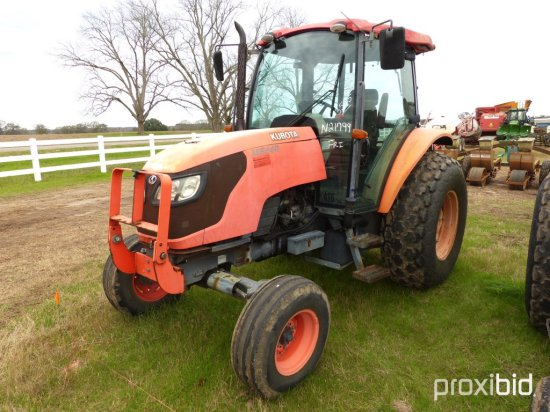 Kubota M8540 Tractor, s/n 20015: C/A, 2wd, 5934 hrs