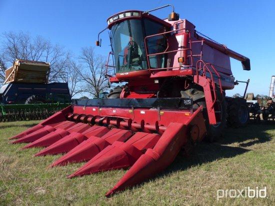 Case IH 2188 Axial Flow Combine, s/n JJC0192398 w/ 964 6-Row Corn Head, 432