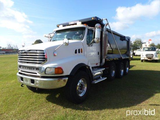 2005 Sterling LT9500 Tri-axle Dump Truck, s/n 2FZHAZDE35AN70745: Cat C13 43