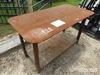 Heavy-duty 30x57 Welding Shop Table w/ Shelf