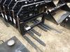 """New Tomahawk Fork Frame w/ 42"""" Forks fits Skid Steer"""