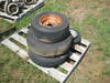 5 ASST. LAWN TRACTOR TIRES