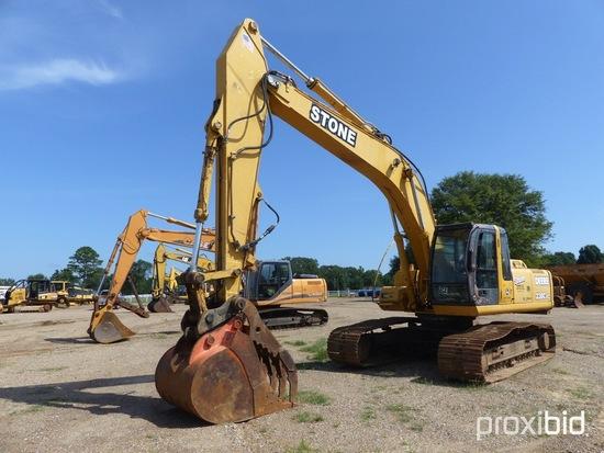 2002 John Deere 230CLC Excavator, s/n FF230CX603032: C/A, Hyd. Thumb, Pilot