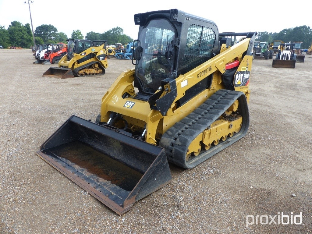 2014 Cat 299D XPS Skid Steer, s/n GTC00716: High Flow, C/A, Hyd. Quick Conn