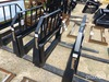 "Tomahawk Fork Frame w/ 42"" Forks: for Skid Steer"