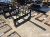 "Tomahawk Fork Frame w/ 42"" Forks: for Skid Steer, Missing One Fork"