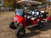 EZGo Electric Golf Cart, s/n 2573465 (No Title): 36-volt, Custom Seats, Ped