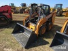 Unused 2014 Case SR130 Skid Steer s/n NEM480218: Canopy GP Bkt. 4 hrs
