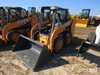 Unused 2014 Case SR130 Skid Steer s/n NEM480198: Canopy GP Bkt. 3 hrs