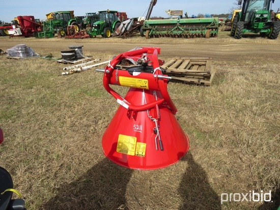 Cosmo 500 3PH Metal Spin Spreader