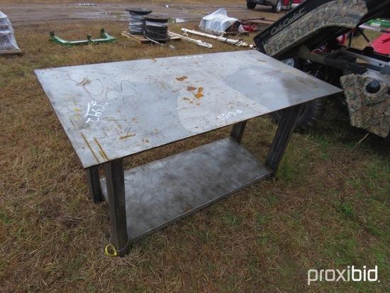 30x57 HD Welding Table w/ Shelf