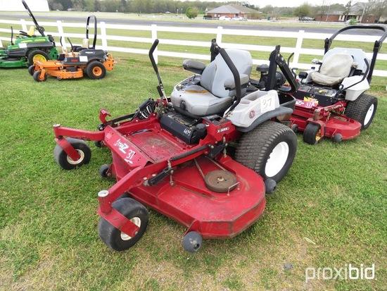 """Exmark Zero-turn Mower, s/n 312619246: 72"""" Cut, 34hk Kohler"""