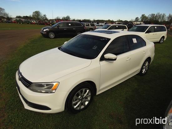2013 Volkswagen Jetta, s/n 3VWDX7AJ4DM365312 (Title Delay): 4-door, Odomete