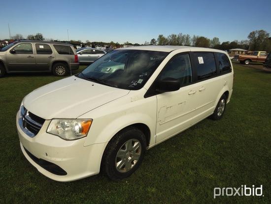 2011 Dodge Grand Caravan, s/n 2D4RN4DG9BR769518: Odometer Shows 117K mi. (O