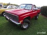 1984 Chevy K5 Blazer