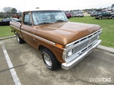1973 Ford F100 Pickup, s/n F10YUR82895: 360 Eng., Auto, SWB