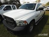 2013 Dodge Ram 4WD 1500 Pickup, s/n 1C6RR7KT7DS670174: 4-door, Hemi 5.7L En
