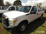 2011 Ford F250 Pickup, s/n 1FTSF2A6XBEA47564: Gas, Auto, 2wd, Odometer Show
