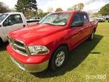 2011 Dodge Ram 1500 4WD Pickup, s/n 1D7RV1CP5BS692177: 4-door, Gas Eng., To