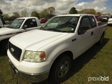 2006 Ford F150 XLT Pickup, s/n 1FTRX12W66NB83393: Triton, Ext. Cab, Tool Bo
