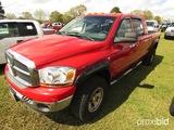 2006 Dodge Ram 2500 4WD Pickup, s/n 3D7KS29C26G130089: Megacab, Cummins Die