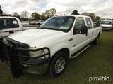 2006 Ford F250XL Pickup, s/n 1FTSW20P56ED56424: 4-door, 6.0L Powerstroke Di