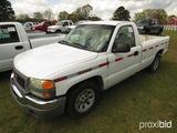 2005 GMC Sierra Pickup, s/n 1GTEC14V15Z297940: Odometer Shows 298K mi. (Own