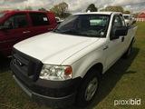 2005 Ford F150 Pickup, s/n 1FTRF12205NB86157: Ext. Cab, Odometer Shows 167K