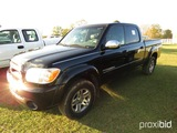 2005 Toyota Tundra Pickup, s/n 5TBET34145S491543: 4-door, Leather, Odometer