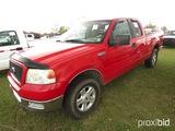 2004 Ford F150 XLT Pickup, s/n 1FTPX14554NA46910: 5.4L Triton, 4-door, Odom