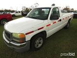 2004 GMC Pickup, s/n 1GTEC14V54Z289810: Auto, Odometer Shows 252K mi. (Owne