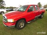 2003 Dodge 2500 Pickup, s/n 3D7KA28D03G792259: 4-door, Hemi Eng., Auto, SWB