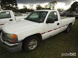 2003 GMC Pickup, s/n 1GTEC14V93Z151203: Auto, Odometer Shows 191K mi. (Owne
