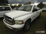 2002 Dodge Ram 1500 Pickup, s/n 1D3HU16Z72J181265: Auto, LWB, Odometer Show