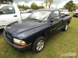 2001 Dodge Dakota Sport Pickup, s/n 1B7FL26X41S259470: 5-sp., Tool Box