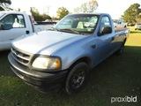 1998 Ford F250 Pickup, s/n 1FTRF2763WNB75155: Triton V8, Odometer Shows 204