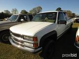 1997 Chevy Silverado Z71 Pickup, s/n 1GCEK19M5VE262098: Ext. Cab