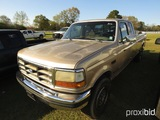 1992 Ford F250 Pickup, s/n 1FTHX25A0NKB60156 (Title Delay): Ext. Cab